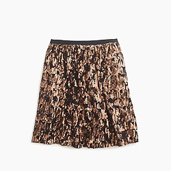 Abstract sequin skirt