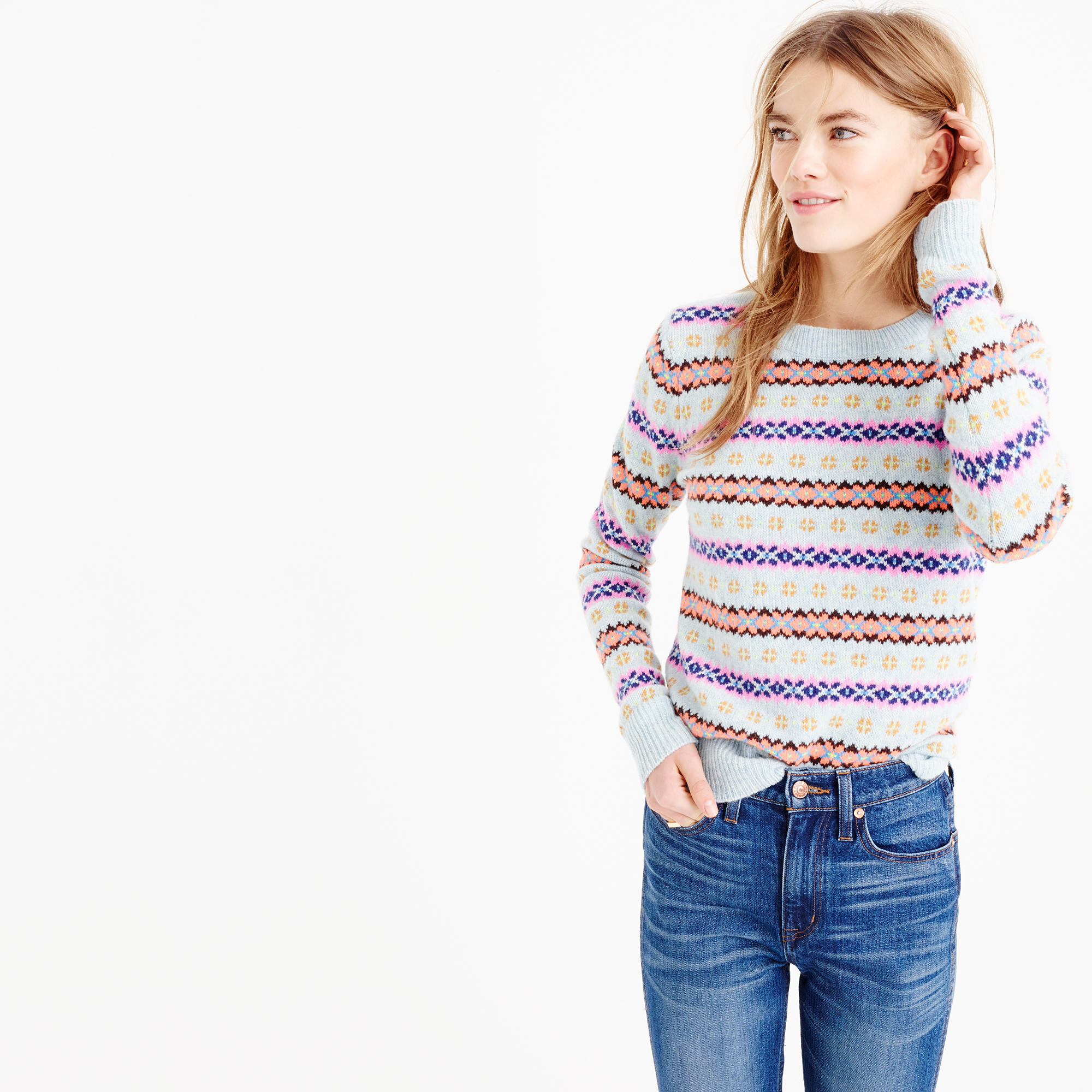 Wardrobe classic: the fair isle sweater - Girls of a Certain Age ...