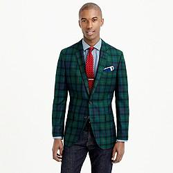Ludlow blazer in English wool tartan