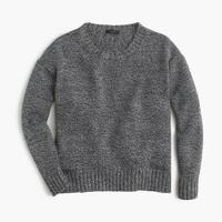 Marled tunic sweater