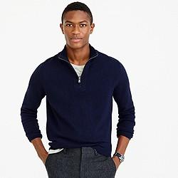 Softspun half-zip sweater