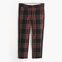 Girls' tartan party pant