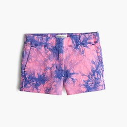 Girls' Frankie short in tie-dye