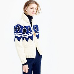 Canadian Sweater Company™ colorblock cardigan sweater