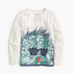 Girls' sequin Max the Monster T-shirt