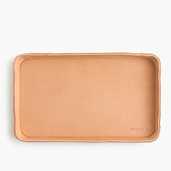 Billykirk® leather catchall tray