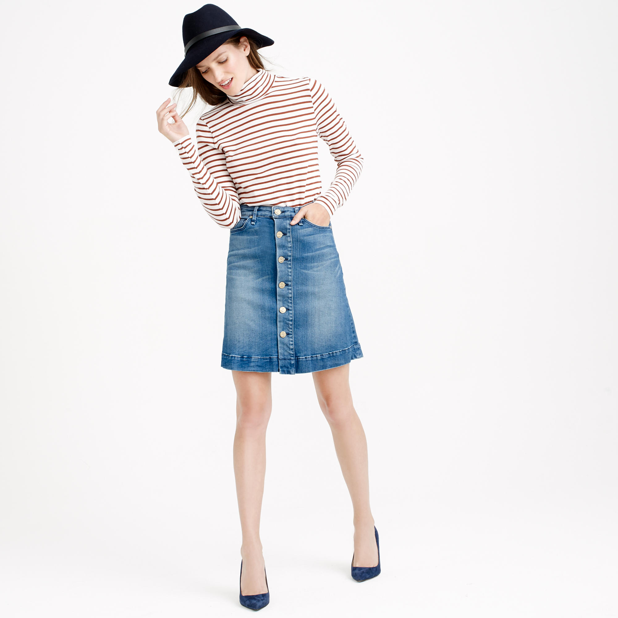 Denim Skirt Canada - Skirts