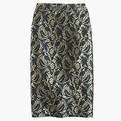 Collection metallic skirt