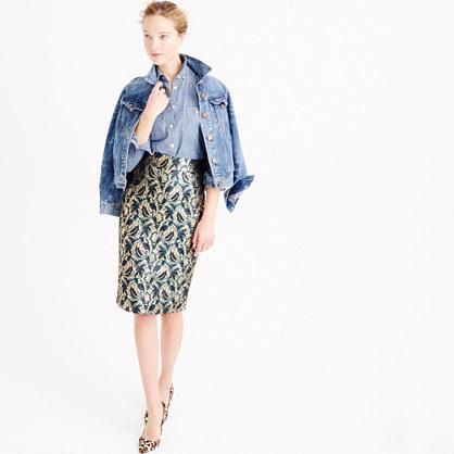 Collection metallic skirt