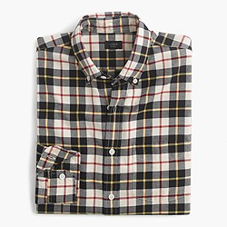 Vintage oxford shirt in Kelly plaid