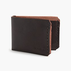 Billykirk® bi-fold leather wallet