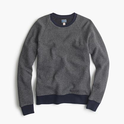 Bird's-eye sweatshirt