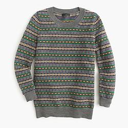Tippi sweater in Fair Isle
