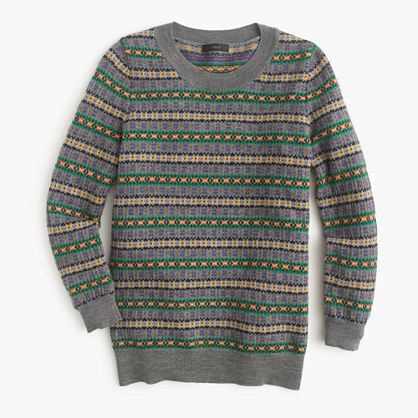 Tippi sweater in Fair Isle