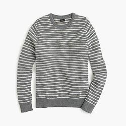 Slim softspun sweater in ditty stripe