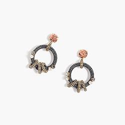 Cimmerian hoop earrings