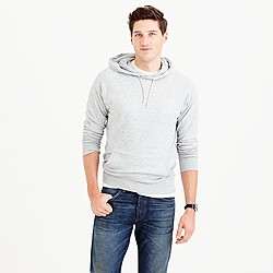 Double-knit pullover hoodie