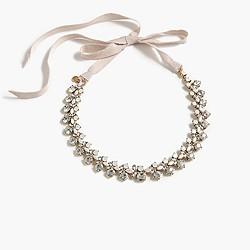 Floweret cluster necklace
