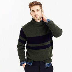 Wallace & Barnes English wool turtleneck sweater