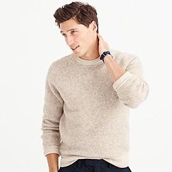 Wallace & Barnes wool contrast trim sweater