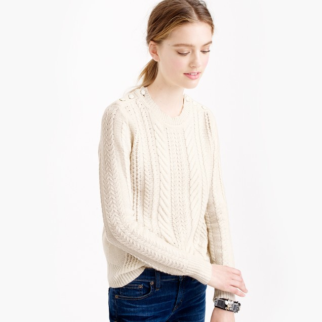 Perfect cable sweater