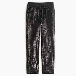Collection pull-on sequin pant