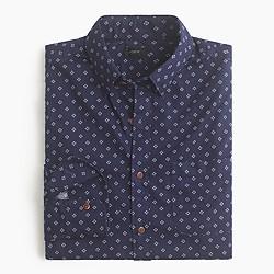 Secret Wash shirt in diamond print
