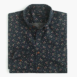 Slim Secret Wash shirt in midnight floral