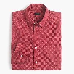 Secret Wash shirt in lattice floral