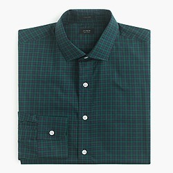Ludlow shirt in midnight gingham