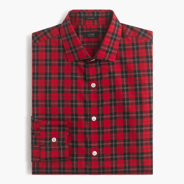 Ludlow shirt in Williams tartan