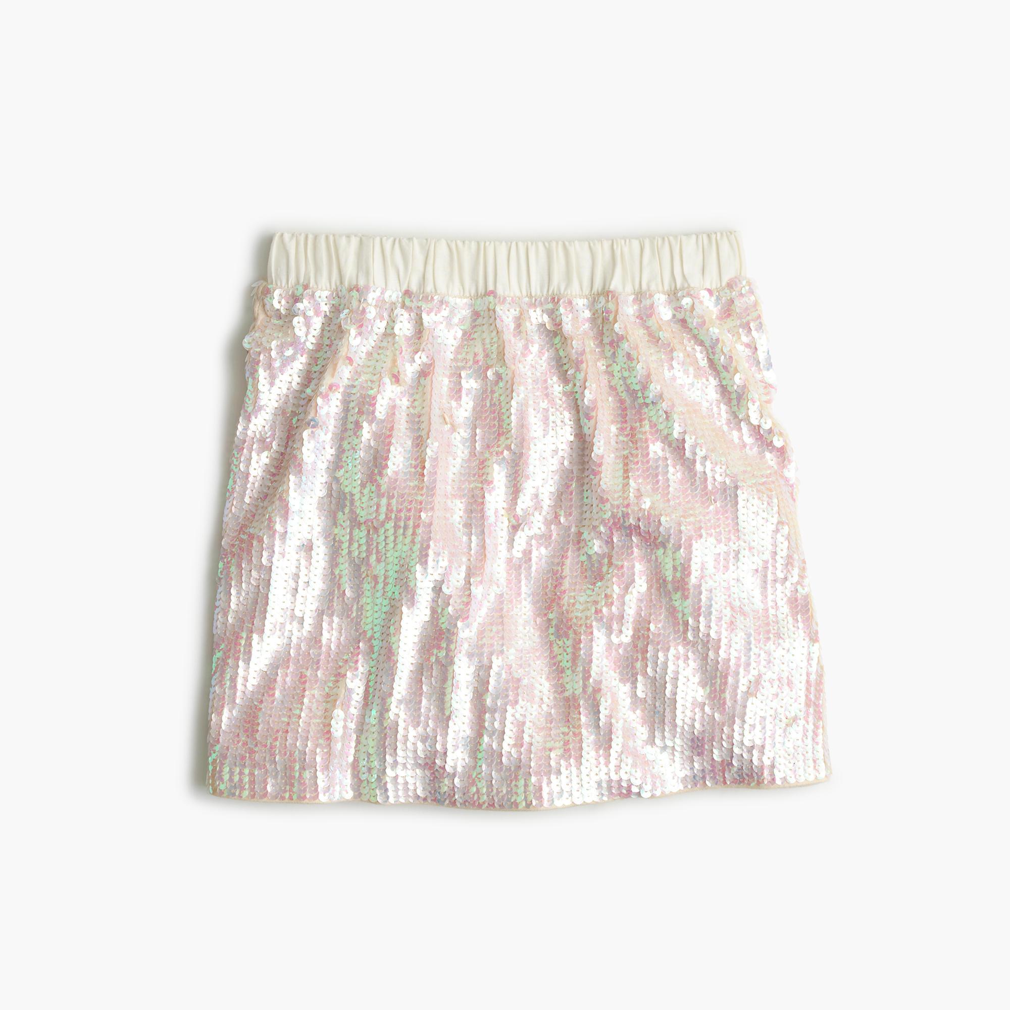 Girl's Sequin Skirt