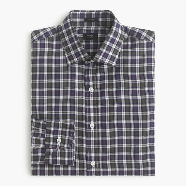 Crosby shirt in Borland tartan