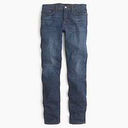 Petite toothpick jean in Edison wash