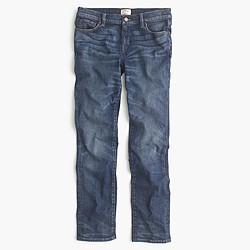 Petite slim broken-in boyfriend jean in Brentcove wash