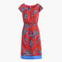 Collection graphic floral sheath dress