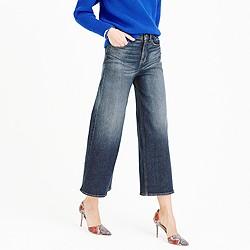 Tall Rayner wide-leg jean in keller wash