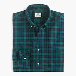 Slim Secret Wash shirt in Shamus tartan
