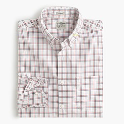 Secret Wash shirt in double windowpane
