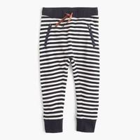 Girls' striped sweatpant