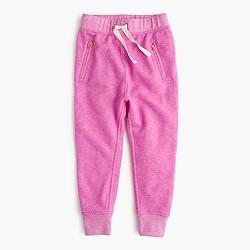 Girls' lightweight fleece sweatpant