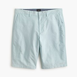 "10.5"" short in oxford cloth in dusty aqua"