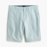 "10.5"" club short in oxford cloth in dusty aqua"