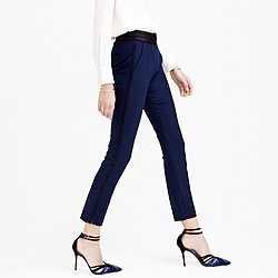 Martie tuxedo pant in bi-stretch wool