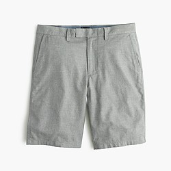 "10.5"" club short in heathered cotton"