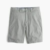 """10.5"""" club short in heathered cotton"""