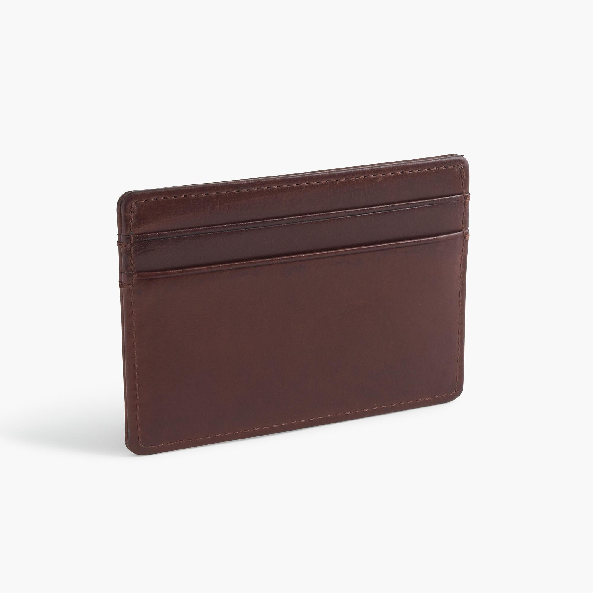 slim leather card case   men u0026 39 s wallets