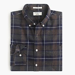Albiate 1830 for J.Crew Ludlow shirt in Italian plaid