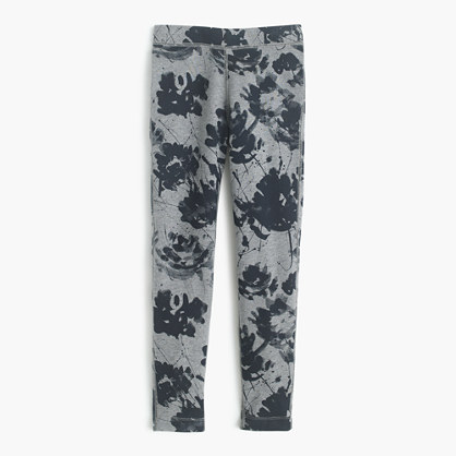 GIrls' cozy everyday legging in floral