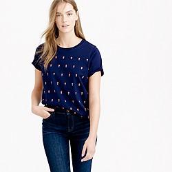 Embellished dot T-shirt